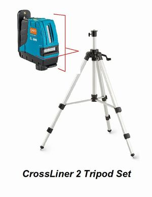 Eco CrossLiner 2 Laser Level Tripod Set - Promotion Cross & Multi Line Lasers