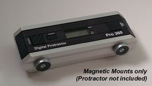 SmartTool Magnetic Mounts (for PRO360/3600) Digital Protractors