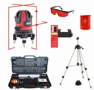 Spot-On RedLiner 3 XPro Laser Level Set - Promotion Cross & Multi Line Lasers