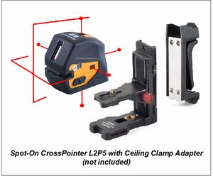 Spot-On CrossPointer.L2P5 Laser Level Cross & Point Lasers