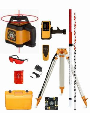 Spot-On Rotary Laser Level 500 SiteMaster Set - Promotion Rotary Lasers