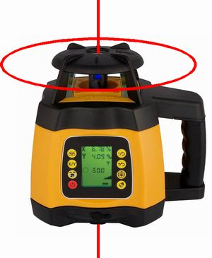 Spot-On Rotary Laser Level 500 Dual Grade Rotary Lasers