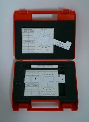 Vernier Rotational Crack Gauge Kit (Set of 5) Vernier Crack Gauges