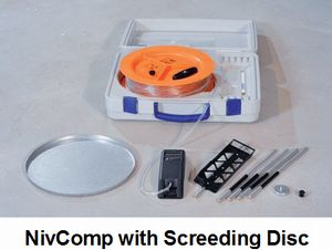 Nivcomp Screeding Disc Digital Altimeter Levels