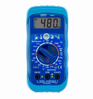 Eco Digital MultiMeter 5-in-1 Electrical Test Meters