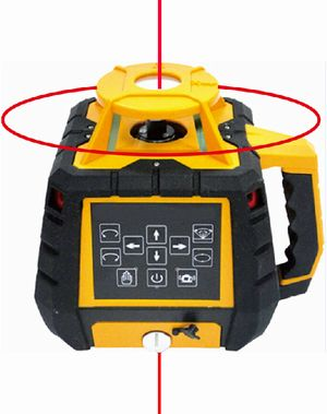 Spot-On Rotary Laser Level 500X Red X.Products