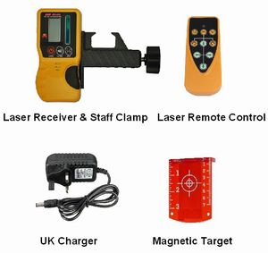 Spot-On Rotary Laser Level 500 SiteMaster Set (Ex Demo Special Offer) Rotary Lasers