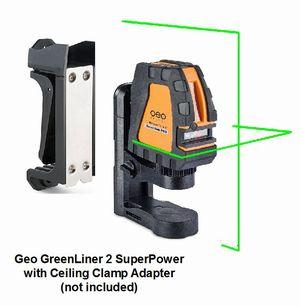 Geo Greenliner 2 Laser Level Superpower Cross Amp Multi