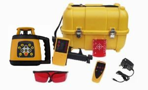 Spot-On Rotary Laser Level 400 Red HVP Set Rotary Lasers