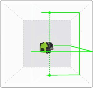 Spot-On GreenLiner Green Laser Level Range Cross & Multi Line Lasers
