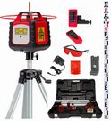 Spot-On Rotary Laser Level 300 Red Int/Ext HVP Portable Levelling Kit - Promotion : Rotary Lasers