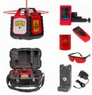 Fukuda Laser FRE302 Rotary Laser Level Red Horizontal Vertical & Plumb Set : Rotary Lasers