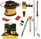 Spot-On Rotary Laser Level 200 Red HDG GroundWorks Pro Set - Promotion : Rotary Lasers